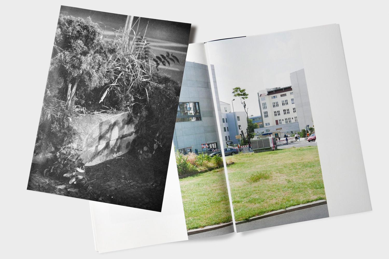 Ossian Fraser Der freie Platz (artists' book), 2016
